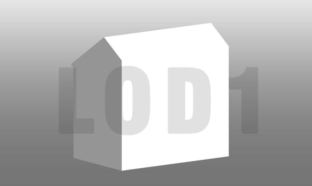 Building Information Modeling LOD1