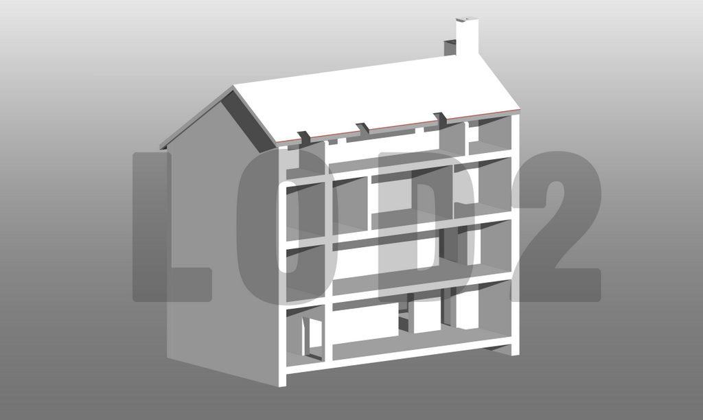 Building Information Modeling LOD2