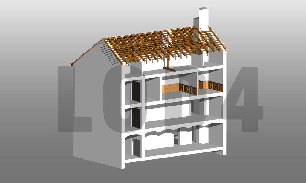 Building Information Modeling LOD4